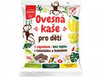SEMIX Ovsená kaša pre deti s vápnikom s čokoládou a banánom 50 g