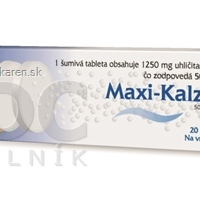 MAXI-KALZ 500 mg 20 šumivých tabliet
