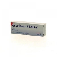 Acyclovir STADA crm der (tuba Al) 1 x 2 g