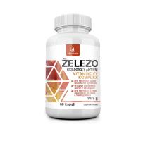 ALLNATURE Železo vitamínový komplex 60 kapsúl
