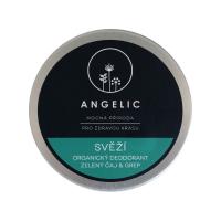 ANGELIC Svieži organický dezodorant Zelený čaj&grep 50 ml