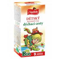 APOTHEKE Detský čaj na dýchacie cesty BIO 20x1,5 g