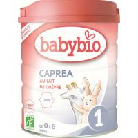 BABYBIO Caprea 1 Počiatočné plnotučné kozie dojčenské mlieko od 0-6 mesiacov 800 g