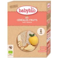 BABYBIO Nemliečna ryžová kaša s quinoou a ovocím BIO 200 g