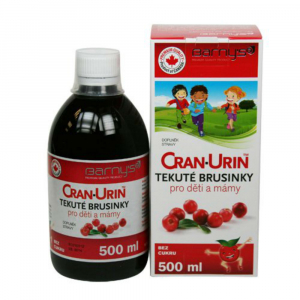 BARNY'S Cran-Urin FORTE tekuté brusnice 500 ml