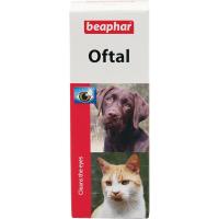 BEAPHAR Oftal očné kvapky pre psov a mačky 50 ml