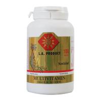 Multivitamin-mineral se ženšenem+ginkgo b.tbl.100
