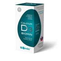 BIOMIN Calcium s vitamínom D 60 kapsúl