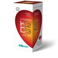 BIOMIN Vitamin K2 + Vitamin D3 2000.I.U. Premium 60 kapsúl