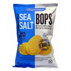 Zemiakové chipsy BIO 85 g - s morskou riasou, morská soľ