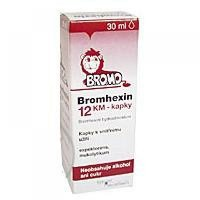 BROMHEXIN 12-KVAPKY KM GTT POR 30ML
