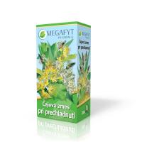 MEGAFYT Čajová zmes pri prechladnutí spc (záparové vrecúška) 20x1,5 g (30 g)