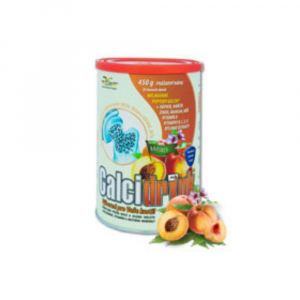 Calcidrink nápoj broskyňa 450g