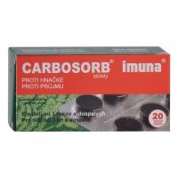 CARBOSORB tbl 320 mg (blis.PVC/Al) 1x20 ks