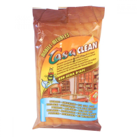 Casa clean vlhčené utierky (20) na drevo, nábytok