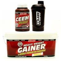 CEEM 120 kapsúl + GAINER vanilka 1000 g + šejker ZADARMO