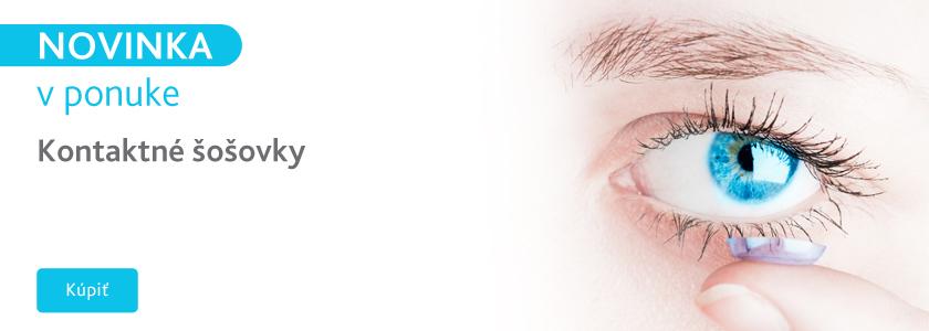 Novinka kontaktné šošovky
