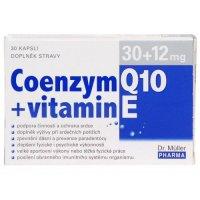 Dr Müller Coenzym Q10 30 mg + Vitamín E 12 mg 30 kapsúl