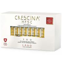 CRESCINA HFSC 100% Starostlivosť pre podporu rastu vlasov (stupeň 500) - Ženy 20 x 3,5 ml