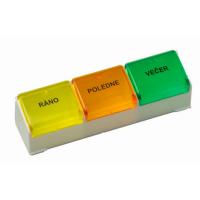 Dávkovač liekov denná farebný (Obzor)