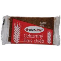 DietLine Celozrnný ražný chlieb 2ks / 40g