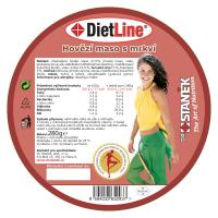 DIETLINE Hovädzie mäso s mrkvou 280 g