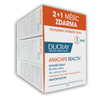 DUCRAY ANACAPS REACTIV (TRIO) cps 3x30 (90 ks), 1x1 set