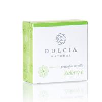 DULCIA Natural Prírodné mydlo Zelený íl 90 g