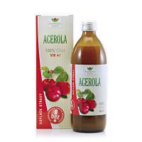 EKOMEDICA Acerola 100% acerola šťava 500 ml