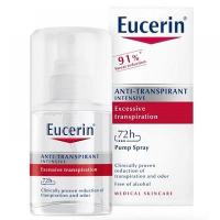 EUCERIN Intenzívny antiperspirant sprej 30 ml