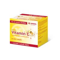 FARMAX Vitamín C s postupným uvoľňovaním 90 + 30 toboliek