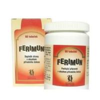 Ferimun tob. 60 s obsahom prírodného železa