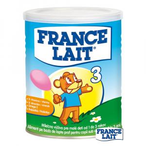 France Lait 3 Mliečna výživa pre malé deti od 1 do 3 rokov 400 g