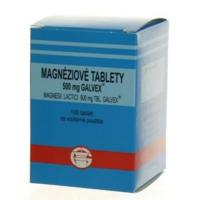 GALVEX Magnéziové tablety 500 mg 100 ks