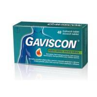 GAVISCON 48 žuvacích tabliet