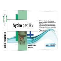 GENERICA hydro pastilky 20 pastiliek