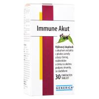 GENERICA Immune Akut 30 cmúľacích tabliet