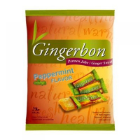 Gingerbon 125 g pepermint - zázvorové cukríky s mätou
