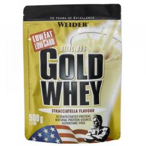Gold Whey, srvátkový proteín, Weider, 500 g - Čokoláda