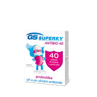 GS Superky Antibio 40 10 kapsúl