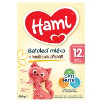 HAMI batoľacie mlieko vanilka 12+ 600 g