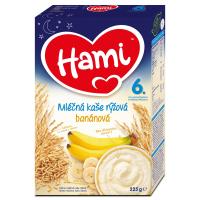 HAMI Mliečna ryžová kaša banánová na dobrú noc 225 g