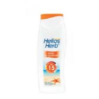 HELIOS Herb mlieko na opaľovanie OF 15 200 ml
