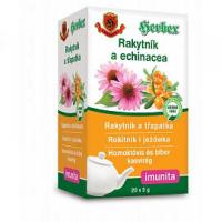 HERBEX čaj rakytník a echinacea 3 g x 20 vreciek