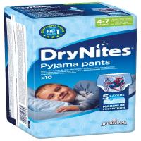 HUGGIES DRY NITES nohavičky absorbčné 4 - 7 / M / boys / 17 - 30 kg / 10 ks