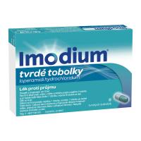 IMODIUM 2 mg 8 tvrdých kapsúl