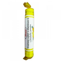 Intact hroznový cukor s vit.C ananás 40g (rulička)