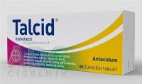 TALCID  500 mg 50 žuvacích tabliet