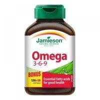 JAMIESON OMEGA 3-6-9 cps 150+50 zadarmo (200 ks)