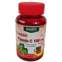JUTAVIT Gumkáči vitamín C 100 mg - kids 60 gum